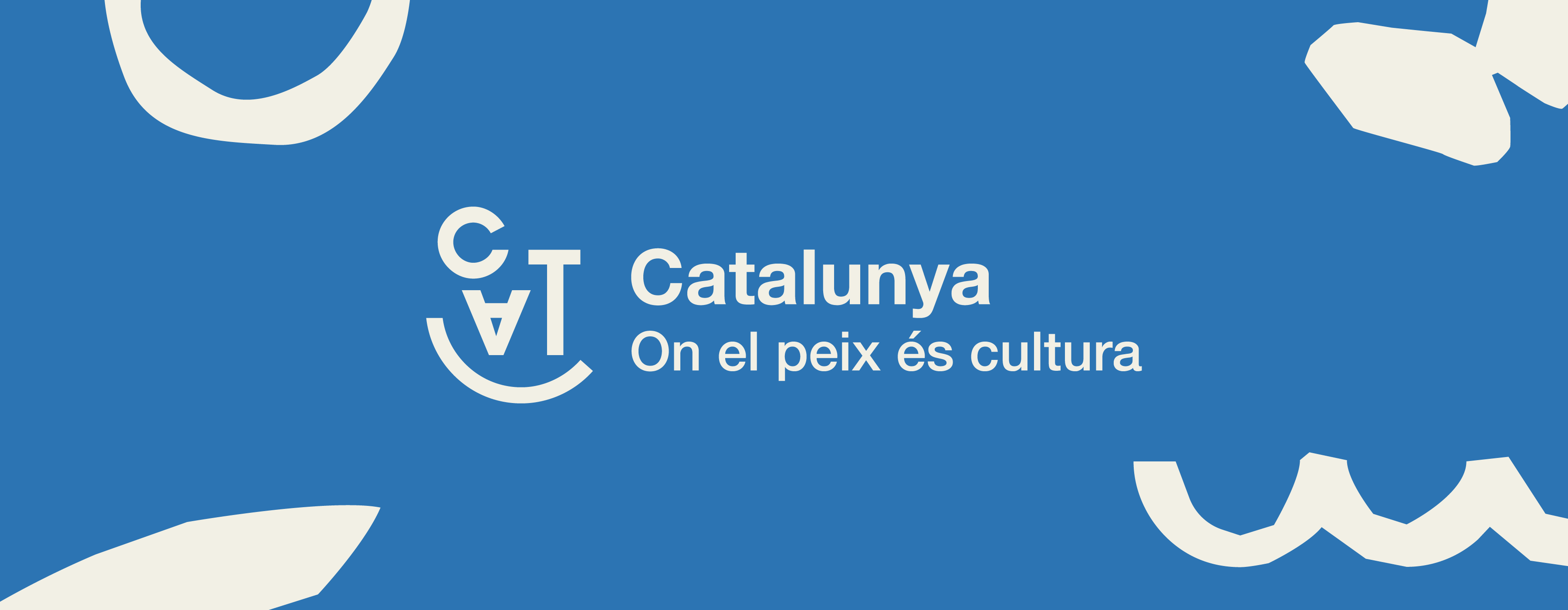 Identidad visual pescado Catalunya, on el menjar és cultura por monsieur madame