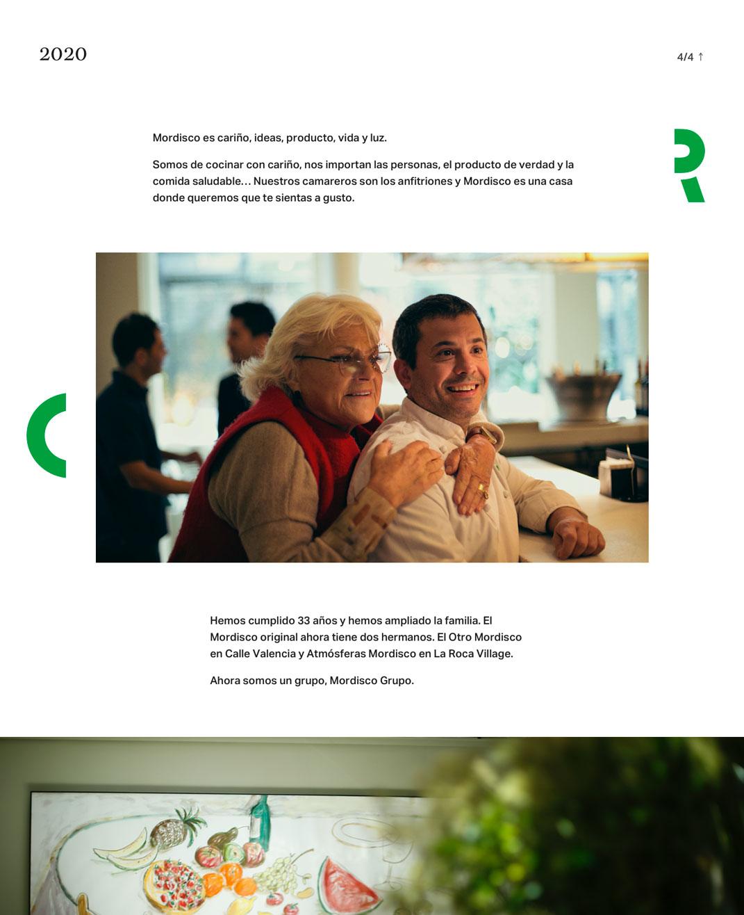 Diseño web restaurante Mordisco por monsieur madame